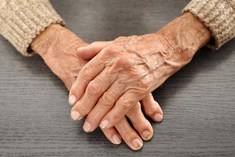 Опытные человеки с artritis стоковое фото