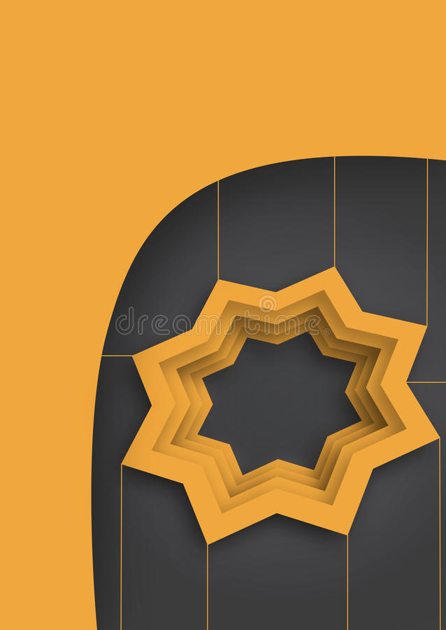 Оранжевая звезда 3d бесплатная иллюстрация