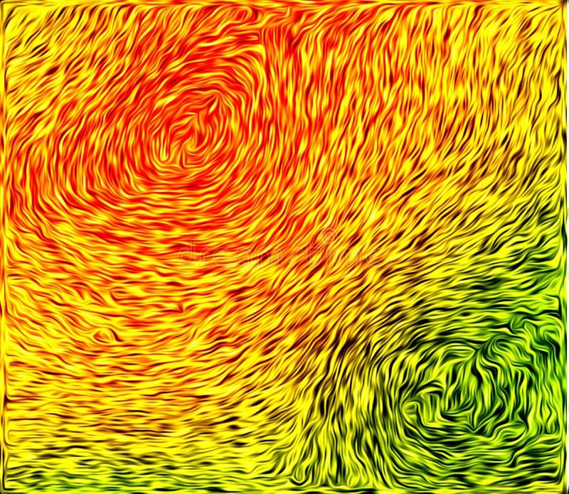 Оранжевая зеленая текстура wtith стоковая фотография rf