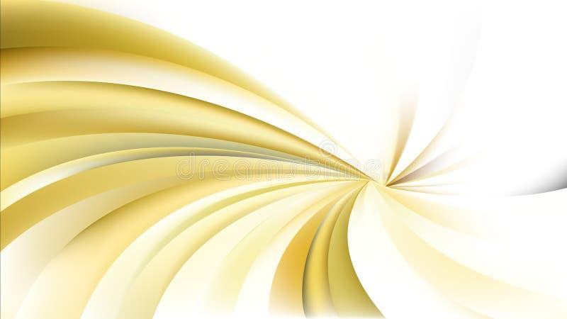 Оранжевая и белая спиральная предпосылка лучей иллюстрация штока