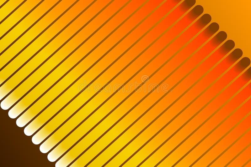 Оранжевая предпосылка, абстрактная форма бесплатная иллюстрация