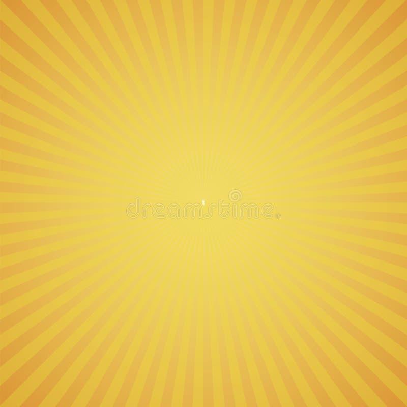 Оранжевая предпосылка сигнала цветовой синхронизации иллюстрация вектора