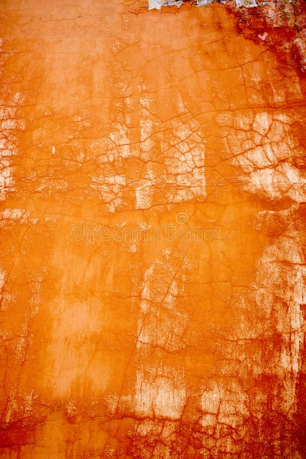 оранжевые абстрактные ходы краски масла предпосылки различных теней стоковые фотографии rf