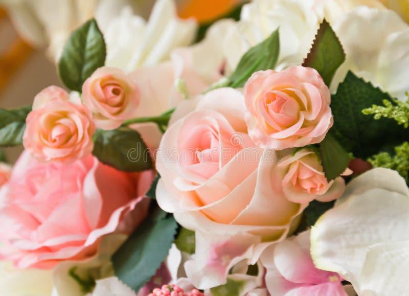 Оранжевые розы ткани стоковые фотографии rf