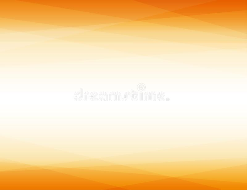 Оранжевые слоевые линии формируют предпосылку треугольника геометрическую абстрактную иллюстрация штока