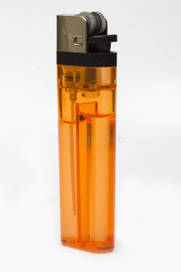 Оранжевый лихтер стоковые изображения rf