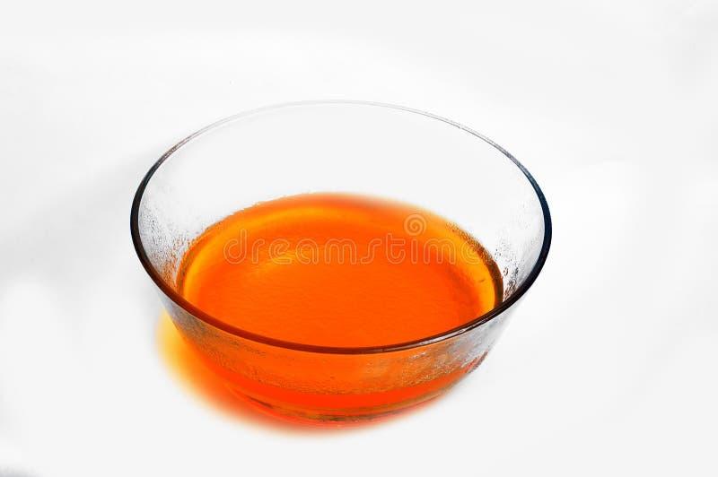 Оранжевый студень 1 стоковые фото