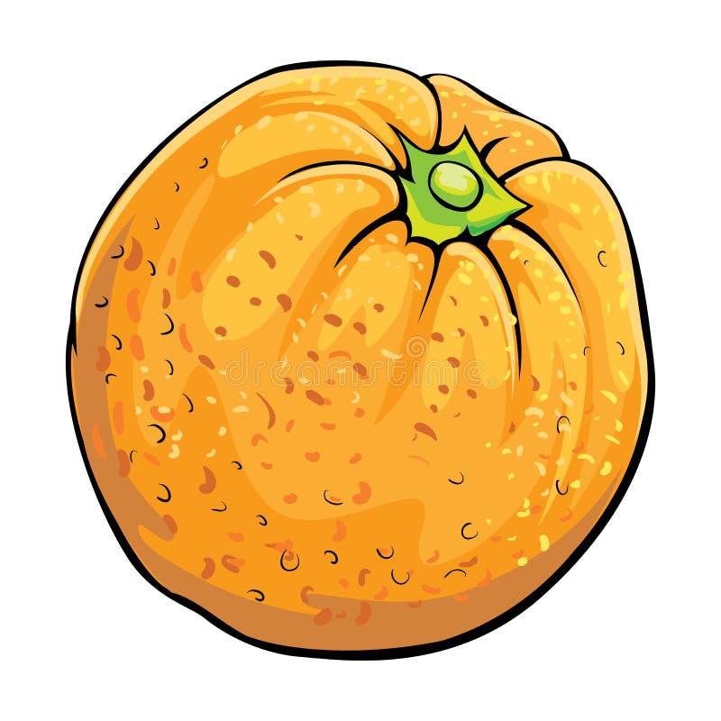 Оранжевый иллюстрация вектора