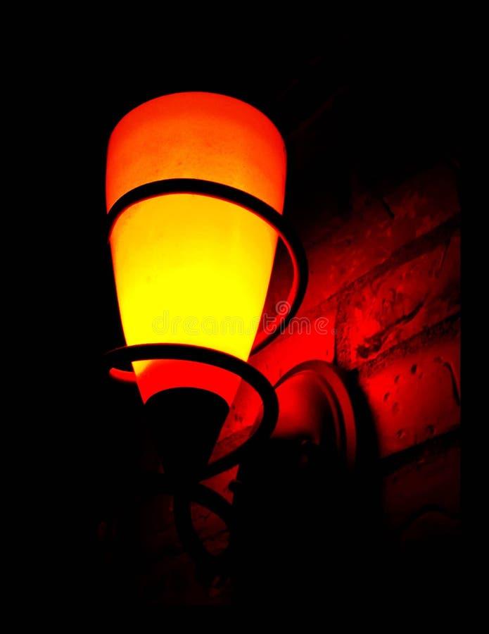 Оранжевый scone стены стоковое фото rf