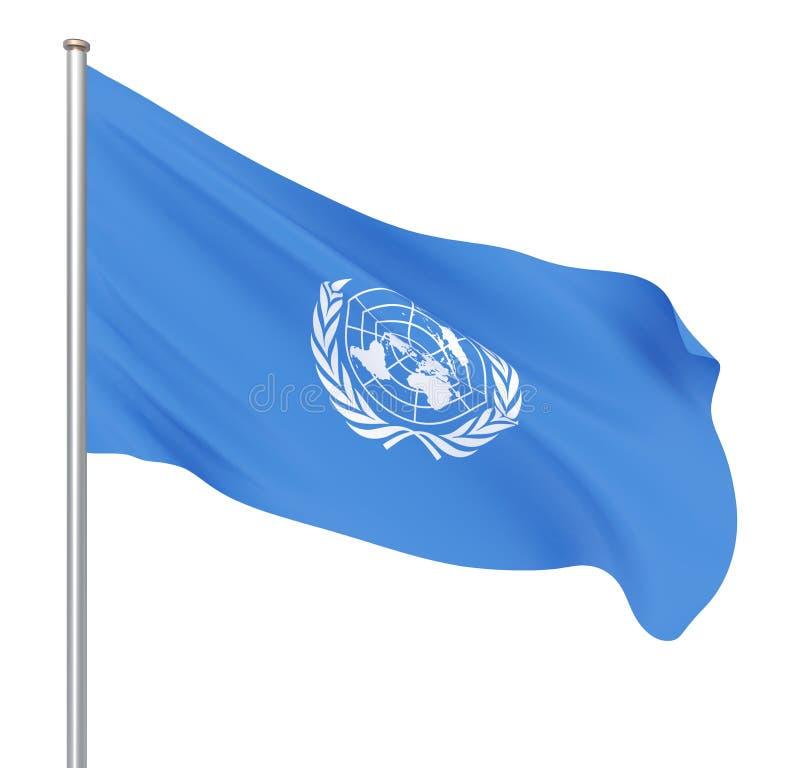 Организация Объединенных Наций сигнализирует r r иллюстрация вектора