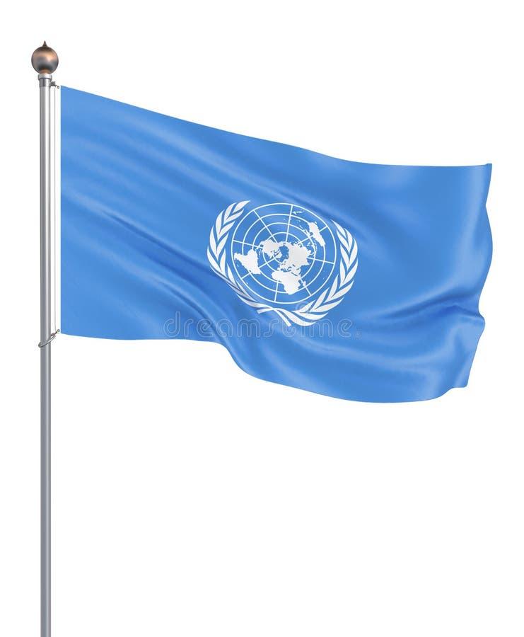 Организация Объединенных Наций сигнализирует r r иллюстрация штока