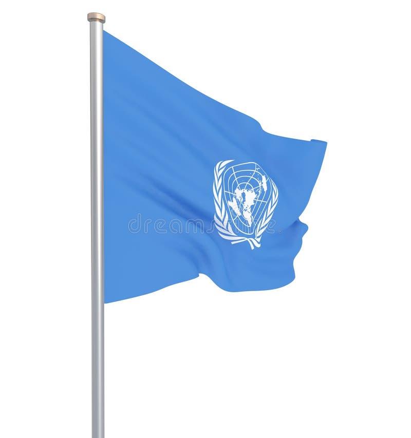 Организация Объединенных Наций сигнализирует r r бесплатная иллюстрация