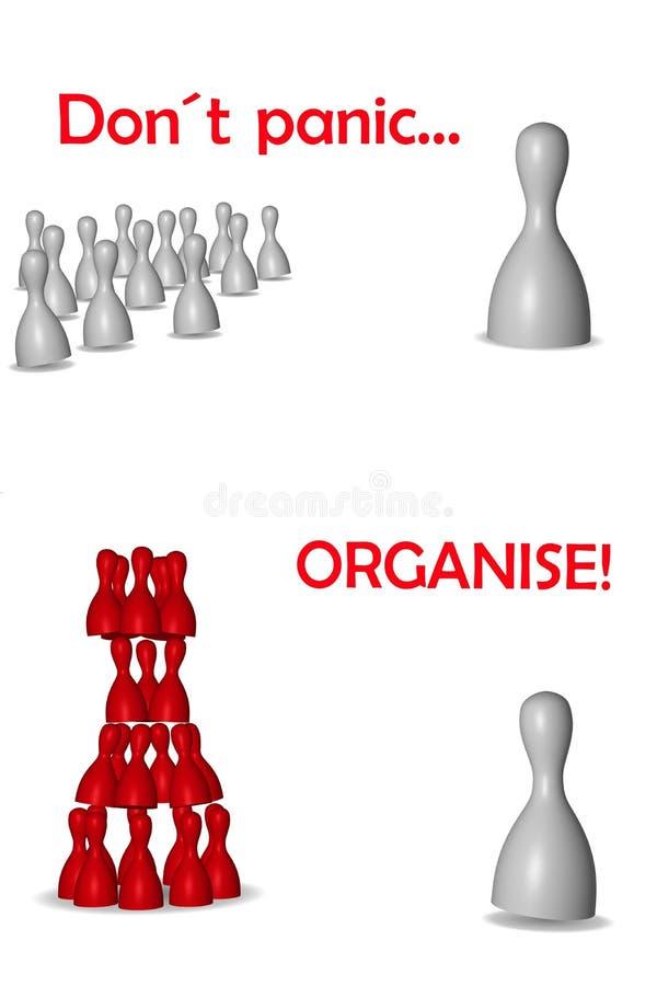 Организуйте иллюстрация штока