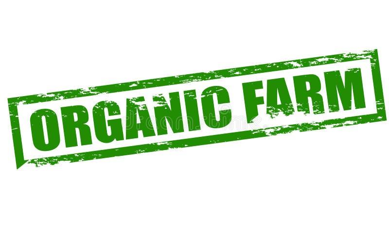 Органическая ферма иллюстрация штока