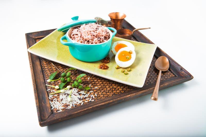 Органическая ягода риса стоковое фото