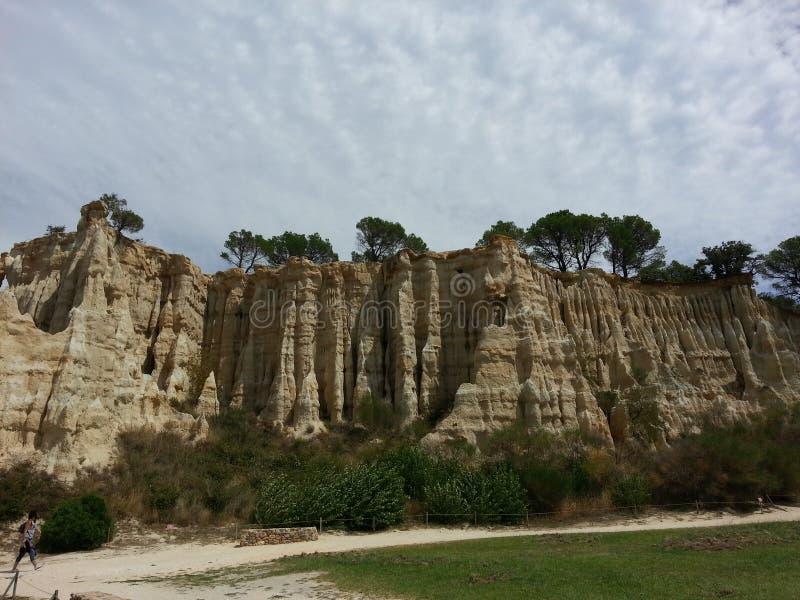 Органы Ille на Tet, Pyrennes, Франция стоковое изображение
