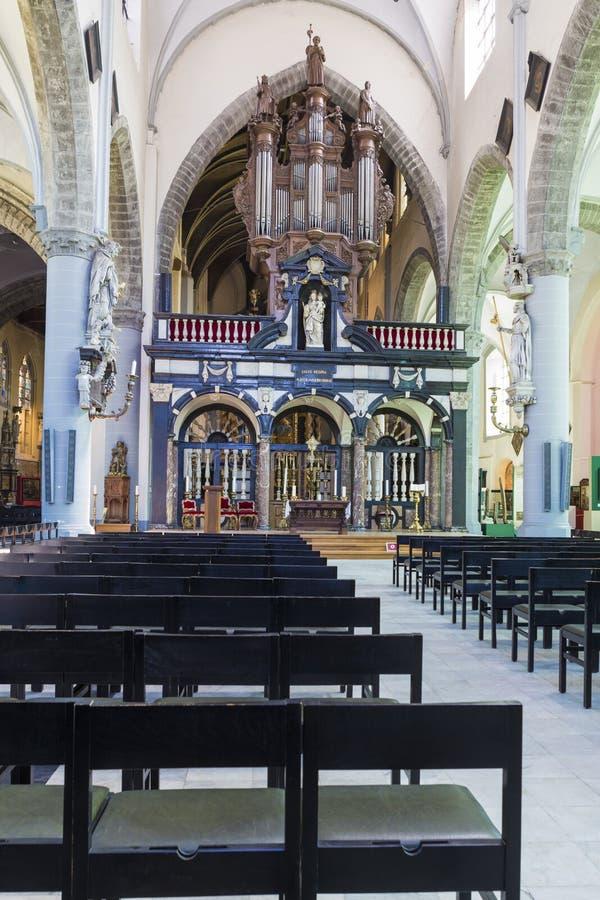 Орган трубы от церков ` St James стоковые фотографии rf