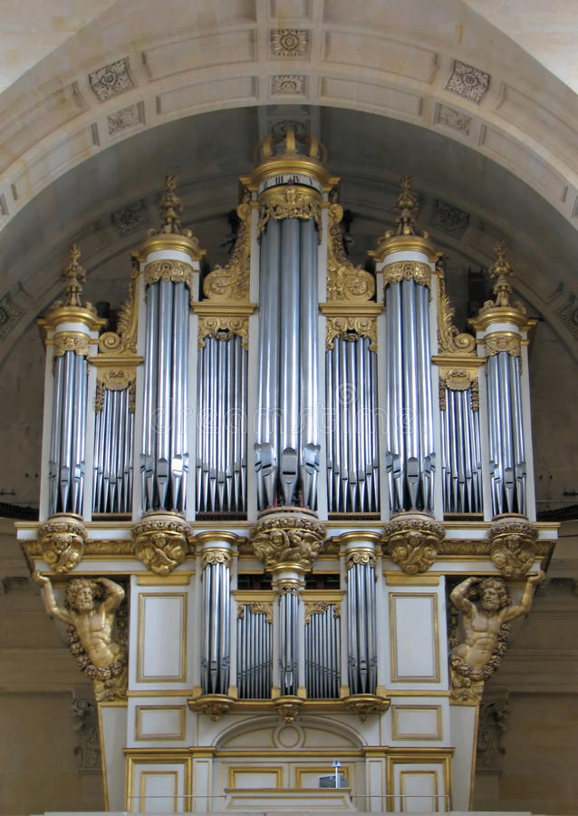орган s собора стоковые изображения rf