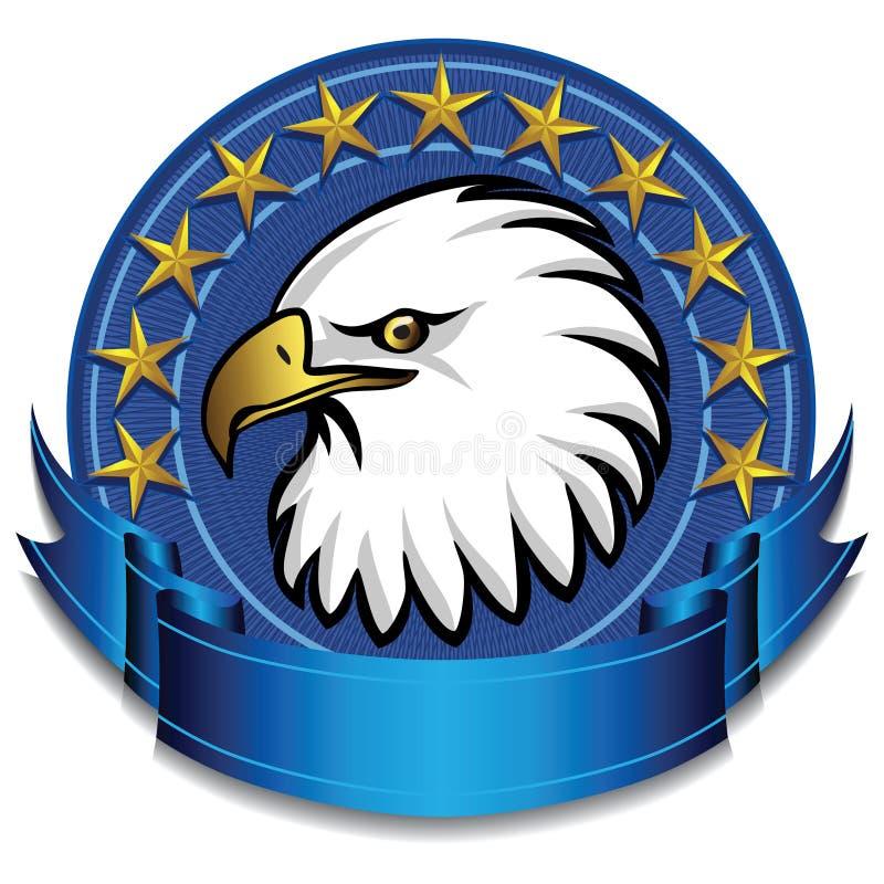 орел сини знамени бесплатная иллюстрация