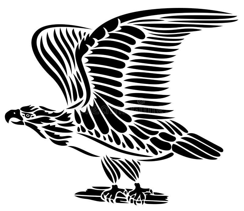 Орел, птица иллюстрация штока