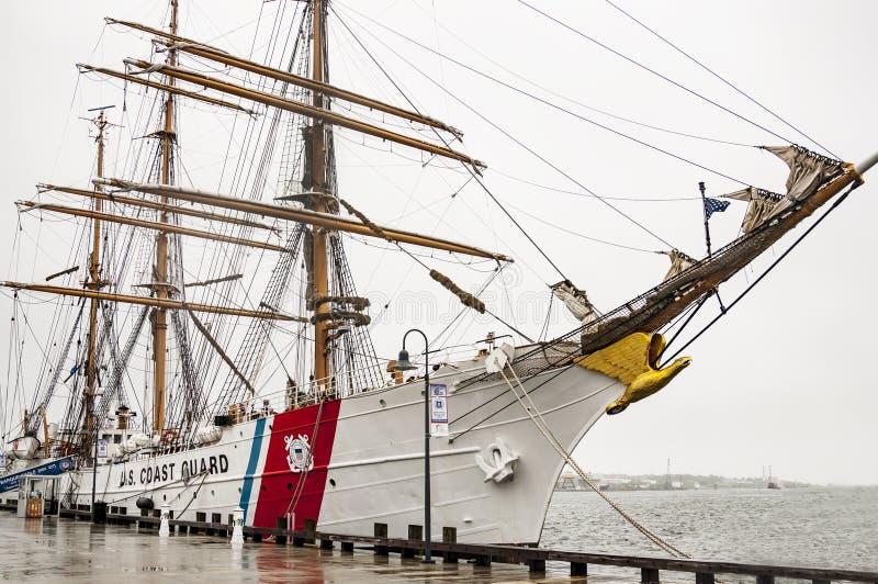 Орел службы береговой охраны Соединенных Штатов стоковые изображения