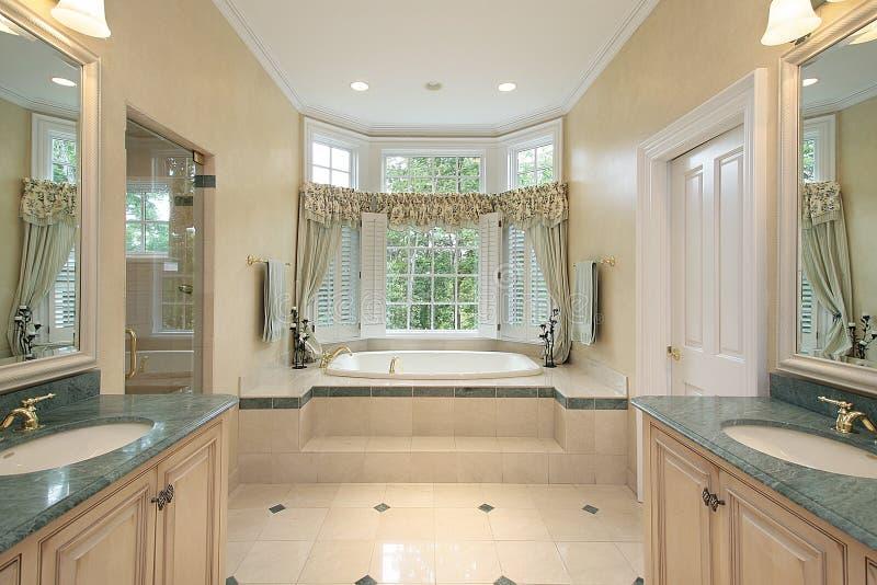 оригинал ванны домашний роскошный стоковая фотография rf