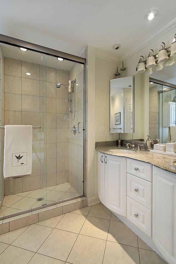 оригинал ванны домашний роскошный стоковое изображение rf