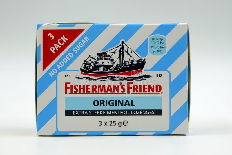 Оригинал друга рыболова 3 пакета стоковая фотография rf
