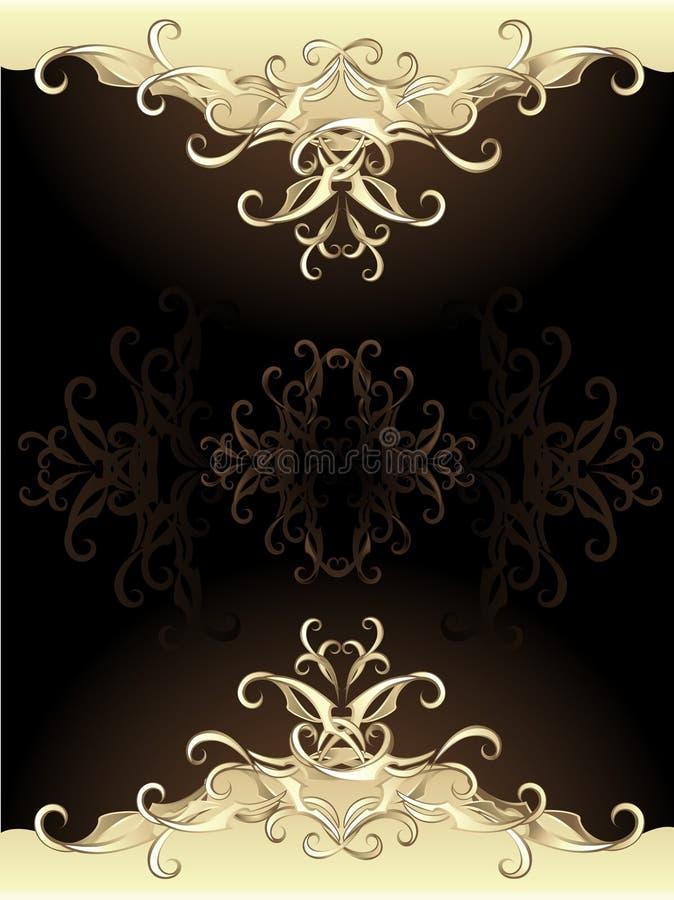 оригинал золота конструкции иллюстрация штока