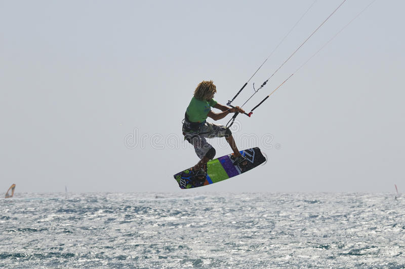 оригинал 2011 чашки kiteboarding стоковые фото
