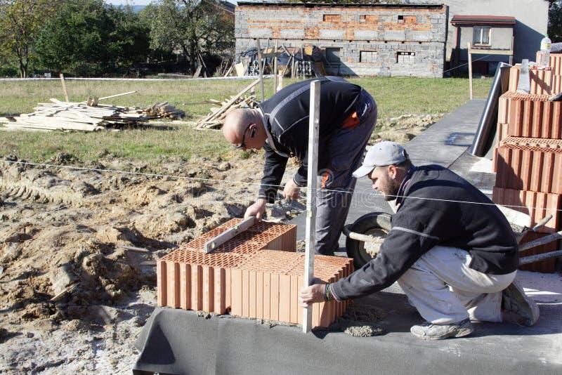 оригинал bricklayer стоковые изображения rf