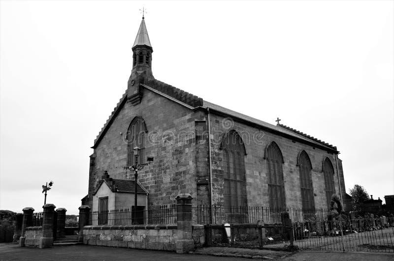 Ориентиры Шотландии - кирки Shotts стоковое изображение