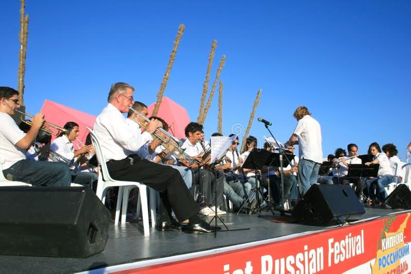 оркестр стоковые изображения rf