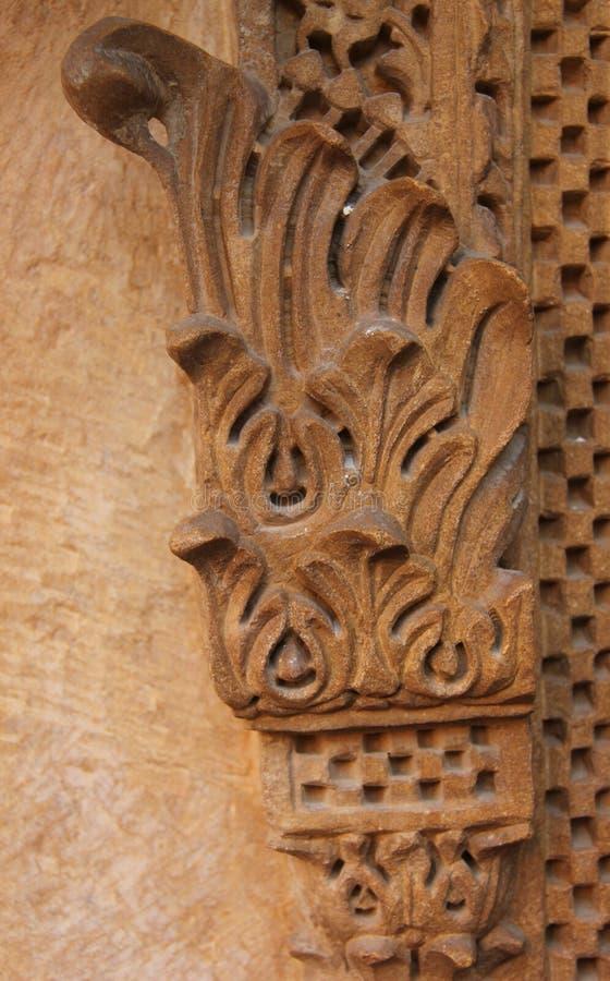 Орнаментальная картина на стене стоковые изображения rf