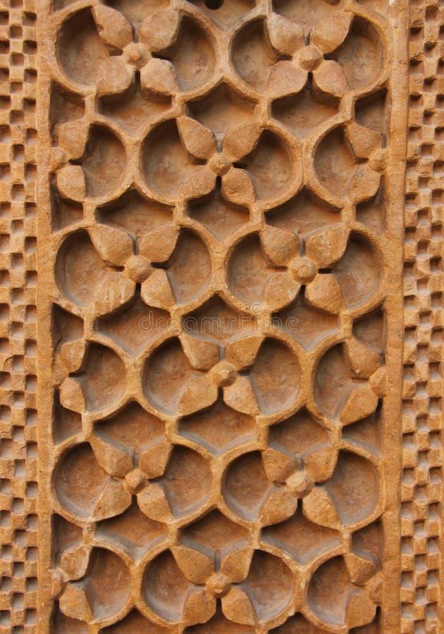 Орнаментальная картина на стене стоковое изображение rf