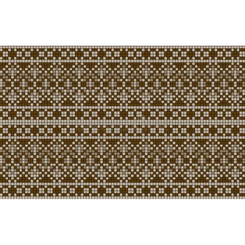 Орнаментальная безшовная картина этнический орнамент иллюстрация штока