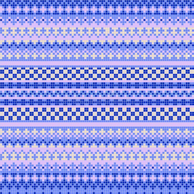Орнаментальная безшовная картина иллюстрация вектора