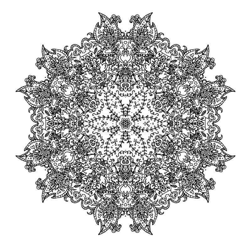 Орнаментальный круглый шнурок стоковые фото