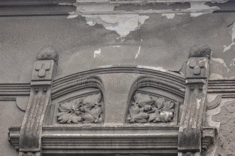 Орнаменты от старого дома стоковые изображения
