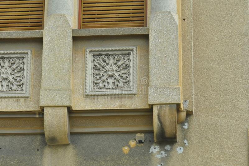 Орнаменты от старого дома стоковые фото