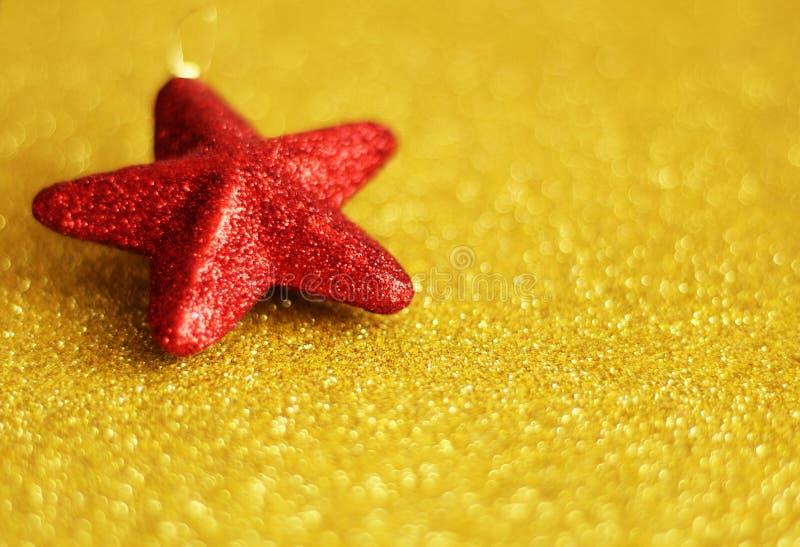 Орнамент звезды рождества, космос бесплатной копии стоковые фото