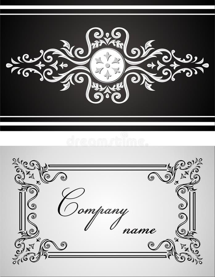 орнамент карточки стоковое фото