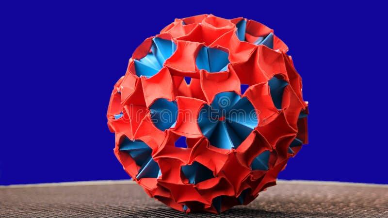 Орнамент метеорита сделанный из бумаги стоковая фотография
