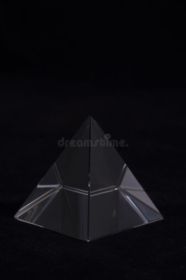 Орнамент пирамиды Кристл стоковое изображение rf