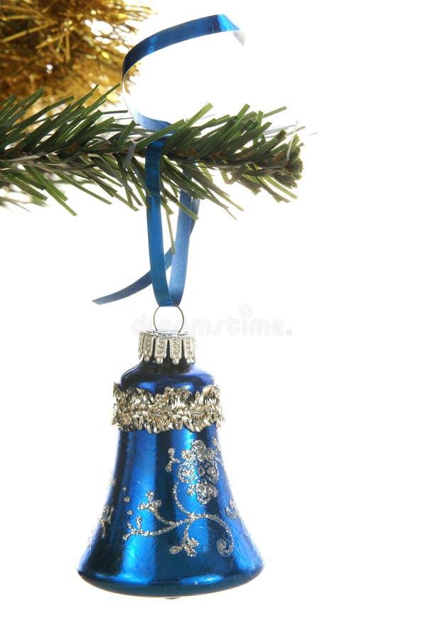 орнамент рождества колокола стоковое изображение