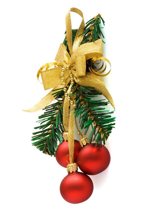 орнамент рождества шарика стоковые фото