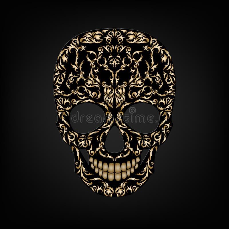 Орнамент черепа бесплатная иллюстрация