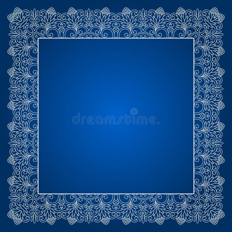 Download Орнамент шнурка вектора флористический Иллюстрация вектора - иллюстрации насчитывающей художничества, скручиваемость: 40578907
