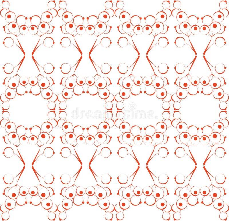 орнамент 03 цветов иллюстрация штока