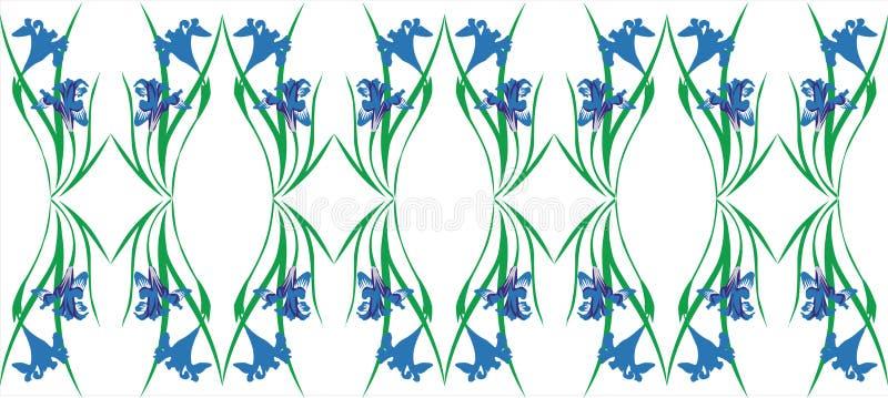 орнамент 05 цветов бесплатная иллюстрация